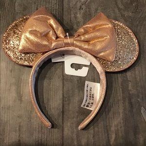 Disney Rose Gold Mickey Ears
